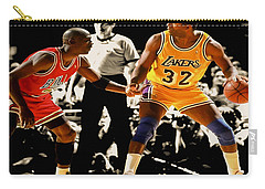 Air Jordan On Magic Carry-all Pouch by Brian Reaves