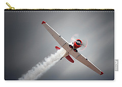 Aircraft In Flight Carry-all Pouch by Johan Swanepoel