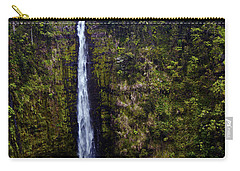 Akaka Falls Carry-all Pouch by Patricia Griffin Brett