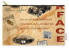 Al Capone Carry-all Pouch by Andrew Fare