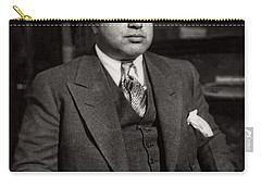 Al Capone - Scarface Carry-all Pouch by Doc Braham