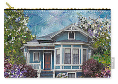 Alameda 1884 - Eastlake Cottage Carry-all Pouch