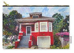 Colonial Revival High Basement Cottage 1907  Carry-all Pouch