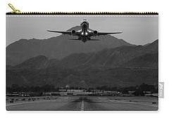 Alaska Airlines Palm Springs Takeoff Carry-all Pouch by John Daly