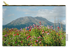 Alaska Flowers In September Carry-all Pouch by Denyse Duhaime