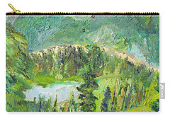 Alaska  Mountain Range Carry-all Pouch