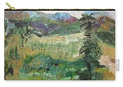 Alaskan Landscape Carry-all Pouch