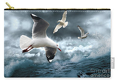 Albatross Carry-all Pouch by Linda Lees