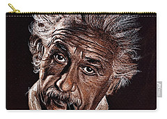 Albert Einstein Portrait Carry-all Pouch
