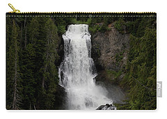 Carry-all Pouch featuring the photograph Alexander Falls by Rod Wiens