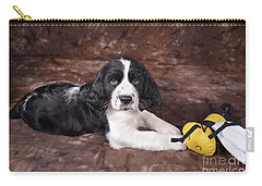 Carry-all Pouch featuring the photograph Alfred by Alana Ranney