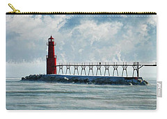 Algoma Pierhead Lighthouse Carry-all Pouch