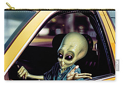 Alien Cab Carry-all Pouch by Steve Read