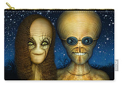 Alien Couple Carry-all Pouch