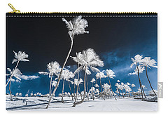 Alien Palm Trees Carry-all Pouch