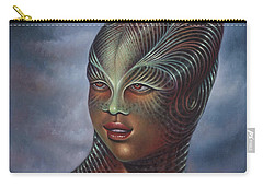 Alien Portrait I Carry-all Pouch
