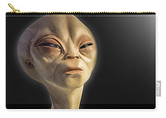 Alien Yearbook Photo Carry-all Pouch