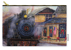 All Aboard At The New Hope Train Station Carry-all Pouch