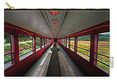 Carry-all Pouch featuring the photograph All Aboard Tioga Central Railroad by Suzanne Stout