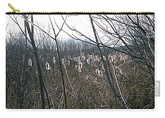 Carry-all Pouch featuring the photograph All Aglow by David Porteus