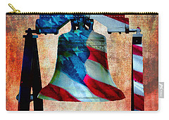 Liberty Bell Art Smooth All American Series Carry-all Pouch