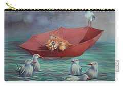 Carry-all Pouch featuring the painting All At Sea by Cynthia House