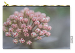 All Dressed In Pink And White Carry-all Pouch by Jacqui Boonstra