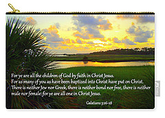 All One In Christ Jesus Carry-all Pouch