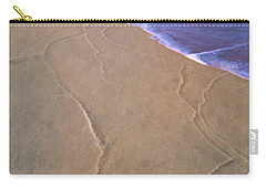 Carry-all Pouch featuring the photograph All Roads Lead To The Sea by Gary Slawsky