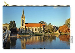 All Saints Church Marlow Carry-all Pouch by Tony Murtagh