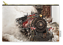 All Steamed Up Carry-all Pouch by Mary Jo Allen