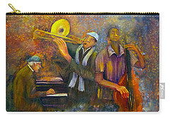 All That Jazz Carry-all Pouch by Loretta Luglio