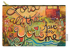 All That You Have For Me Carry-all Pouch