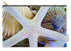 All The Colors Of The Sea Carry-all Pouch by Colleen Kammerer