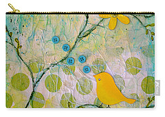 All Things Bright And Beautiful Carry-all Pouch by Carla Parris