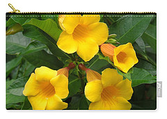 Allamanda Carry-all Pouch by Ron Davidson