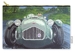 Carry-all Pouch featuring the painting Allard J2x by Anna Ruzsan