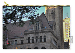Carry-all Pouch featuring the photograph Allegheny County Courthouse by Steven Richman
