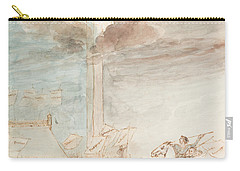 Allegory   Knowledge Versus Orthodox Religion Carry-all Pouch by Auguste Hervieu