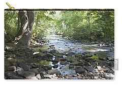 Carry-all Pouch featuring the photograph Allen Creek by William Norton