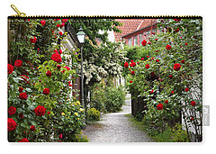 Alley Of Roses Carry-all Pouch