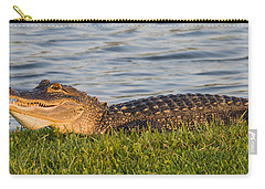 Alligator Smile Carry-all Pouch