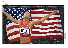 Allison Felix Olympian Gold Metalist Carry-all Pouch