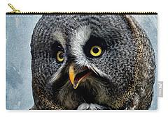 Allocco Della Lapponia - Tawny Owl Of Lapland Carry-all Pouch