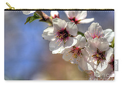 Carry-all Pouch featuring the photograph Almond Blossoms by Jim and Emily Bush