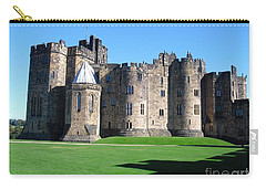 Carry-all Pouch featuring the photograph Alnwick Castle Castle Alnwick Northumberland by Paul Fearn
