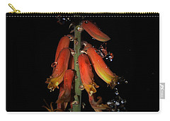 Carry-all Pouch featuring the photograph Aloe Flower by Leticia Latocki
