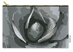 Aloe Vera Abstract Carry-all Pouch