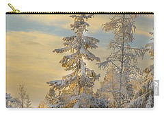 Carry-all Pouch featuring the photograph Alone But Strong by Rose-Maries Pictures