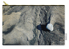 Carry-all Pouch featuring the photograph Alone by Christiane Hellner-OBrien